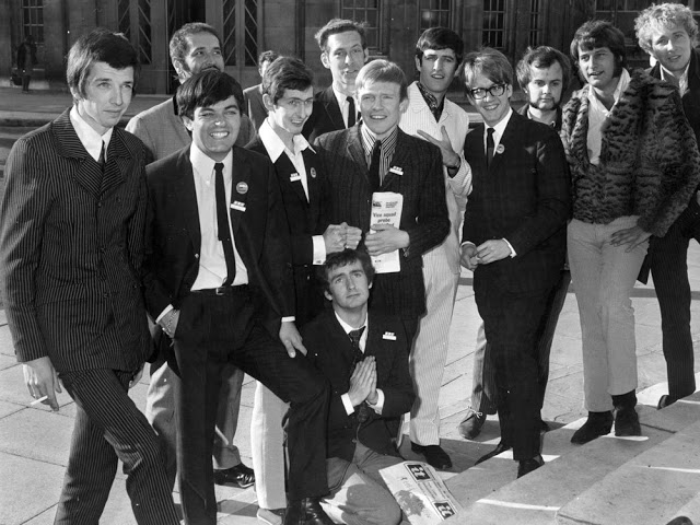 Pirate radio DJs went to work for the BBC. Dave Cash (fourth from the left) and his group of ex-pirate DJs. Pirate Radio and Sealand and Other stories of Rock, Radio, and Regulations. Marchmatron.com