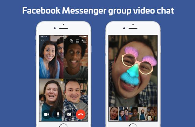 Facebook Görüntülü Grup Sohbeti yapma