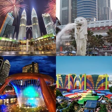 paket tour malaysia singapore murah
