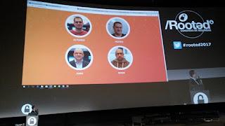 RootedCon 2017 - Román Ramirez, Alfonso Muñoz Juan y Omar - Be real Talent