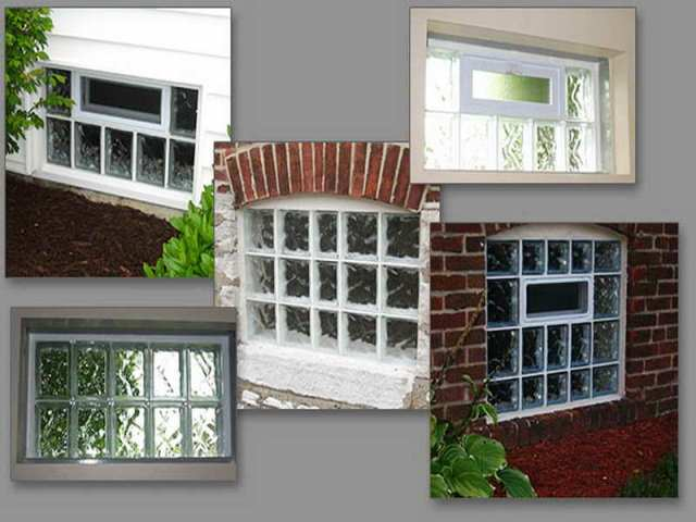 Installing GLASS Block Basement WINDOWS