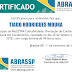 Certificado Palestra: CONTABILIDADE, PRESTAÇÃO DE CONTAS E AUDITORIA