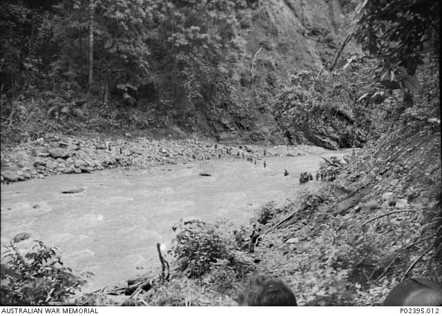 Warangoi River, New Britain, near Rabaul, 25 January 1942 Worldwartwo.filminspector.com