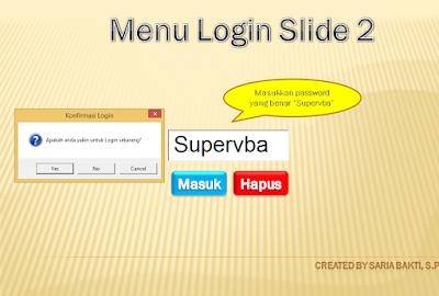messagebox menu login powerpoint 2007