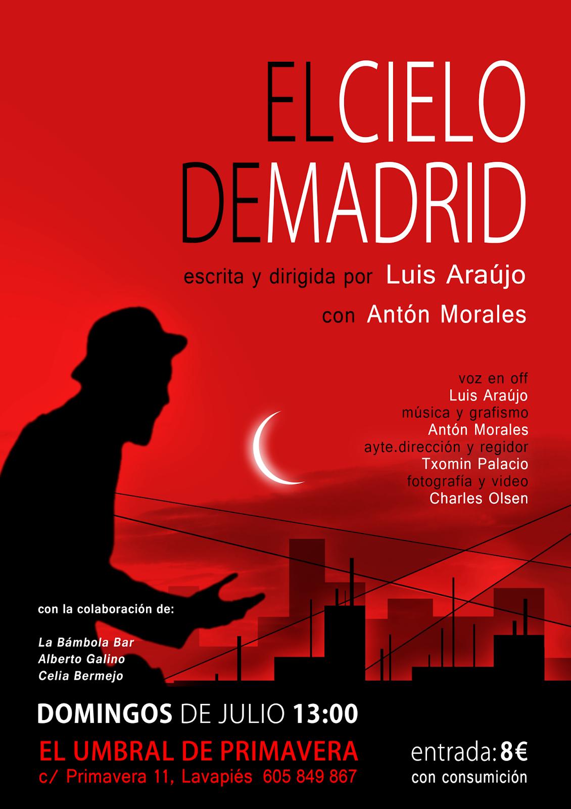diseño del poster: antón morales