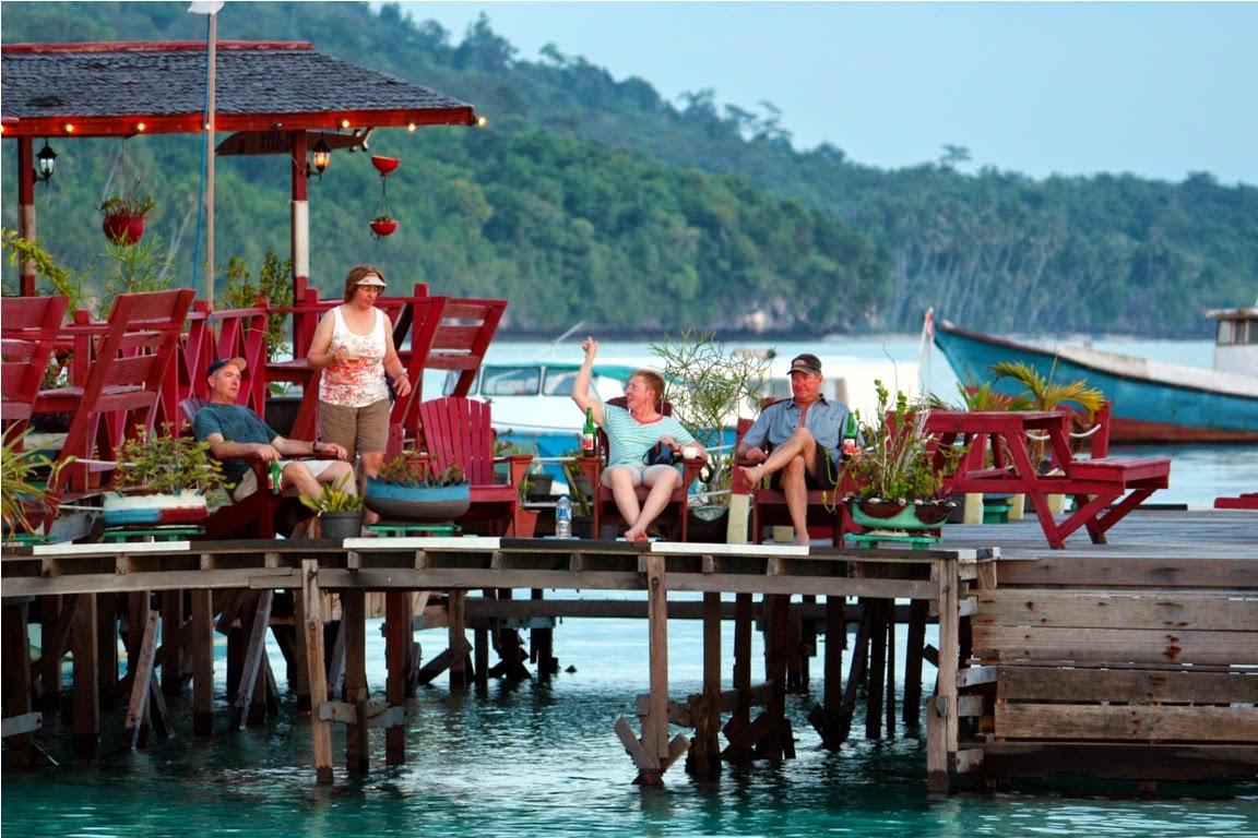 Rombongan penyelam dari Florida USA di Maratua Paradise Resort