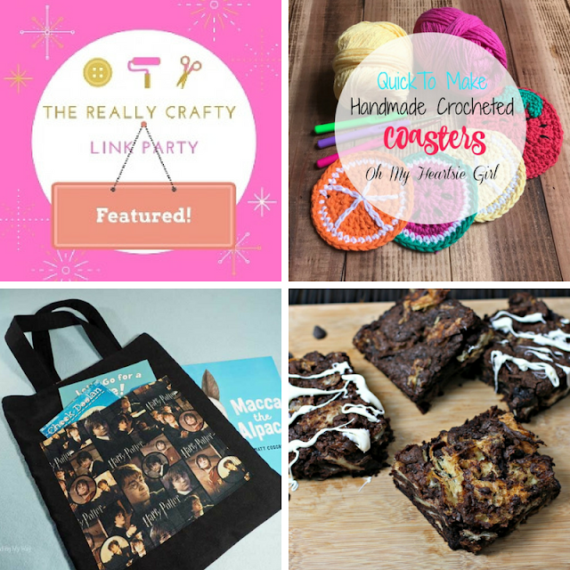 The Really Crafty Link Party #126 featured posts