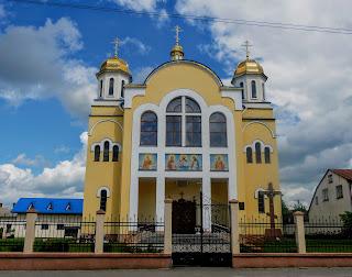 Жолква. Православная церковь св. Апостолов Петра и Павла
