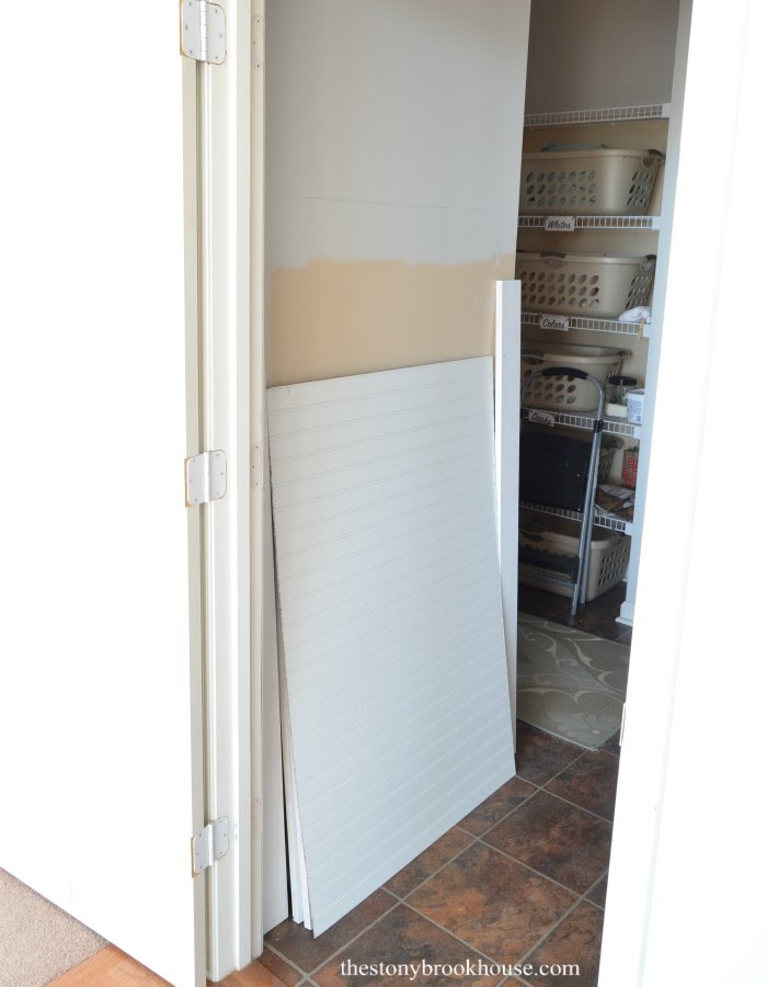 Mudroom Wall Supplies