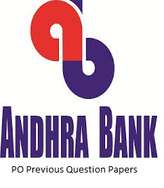 Andhra Bank PO Previous Question Papers