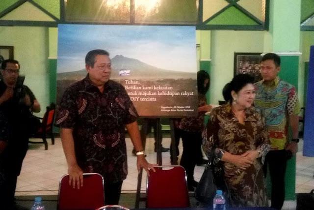 SBY: Saya Menahan Emosi Selama 10 Tahun
