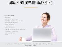 lowongan kerja Admin follow peter&co Bandung