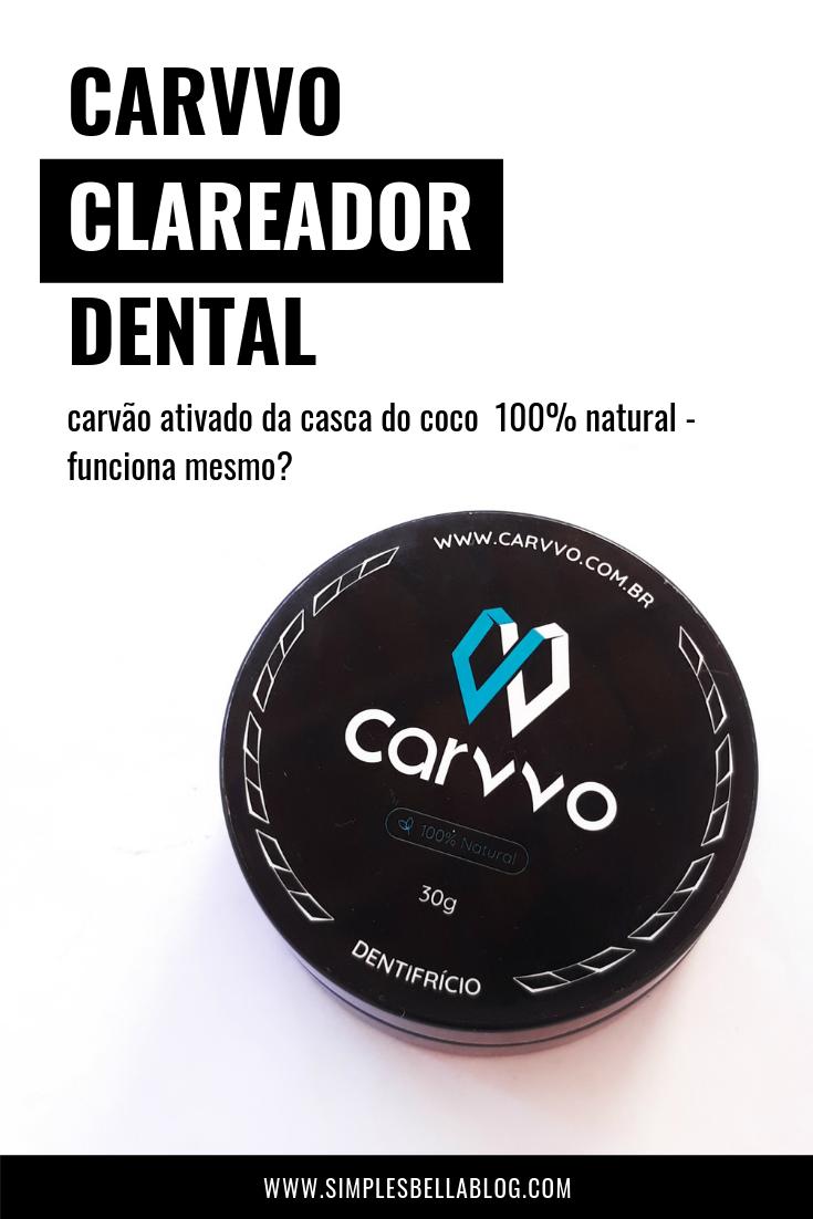 Carvvo - o primeiro clareador dental 100% natural do Brasil, completamente livre de aditivos químicos!