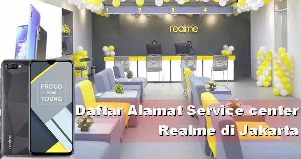 Alamat Service Resmi HP Realme di DKI Jakarta