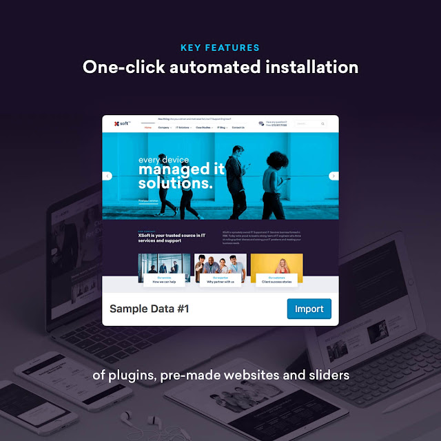 Magnifico Themes: Nanosoft - WP Theme for IT Solutions and