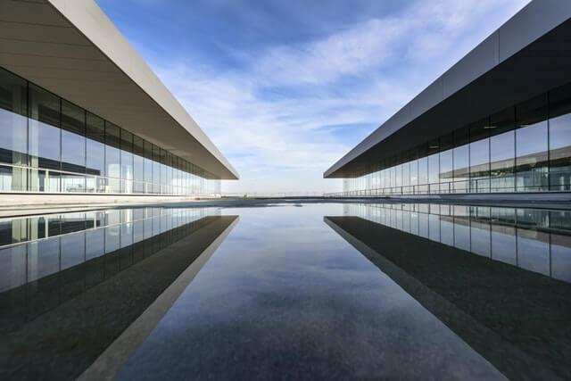 Architectural Design Architecture Buildings Clouds