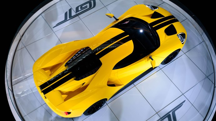 Wallpaper: Ford GT at 2016 Toronto Auto Show