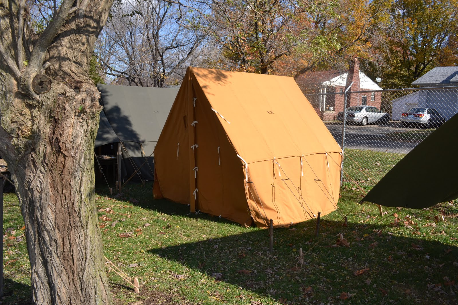 Canvas Wall Tent Stove