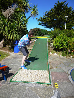 Photo of Gilmores Golf miniature golf course in Newquay, Cornwall