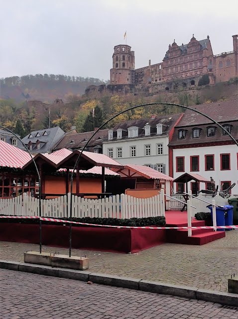 Christmas Market and Heidelberg Castle