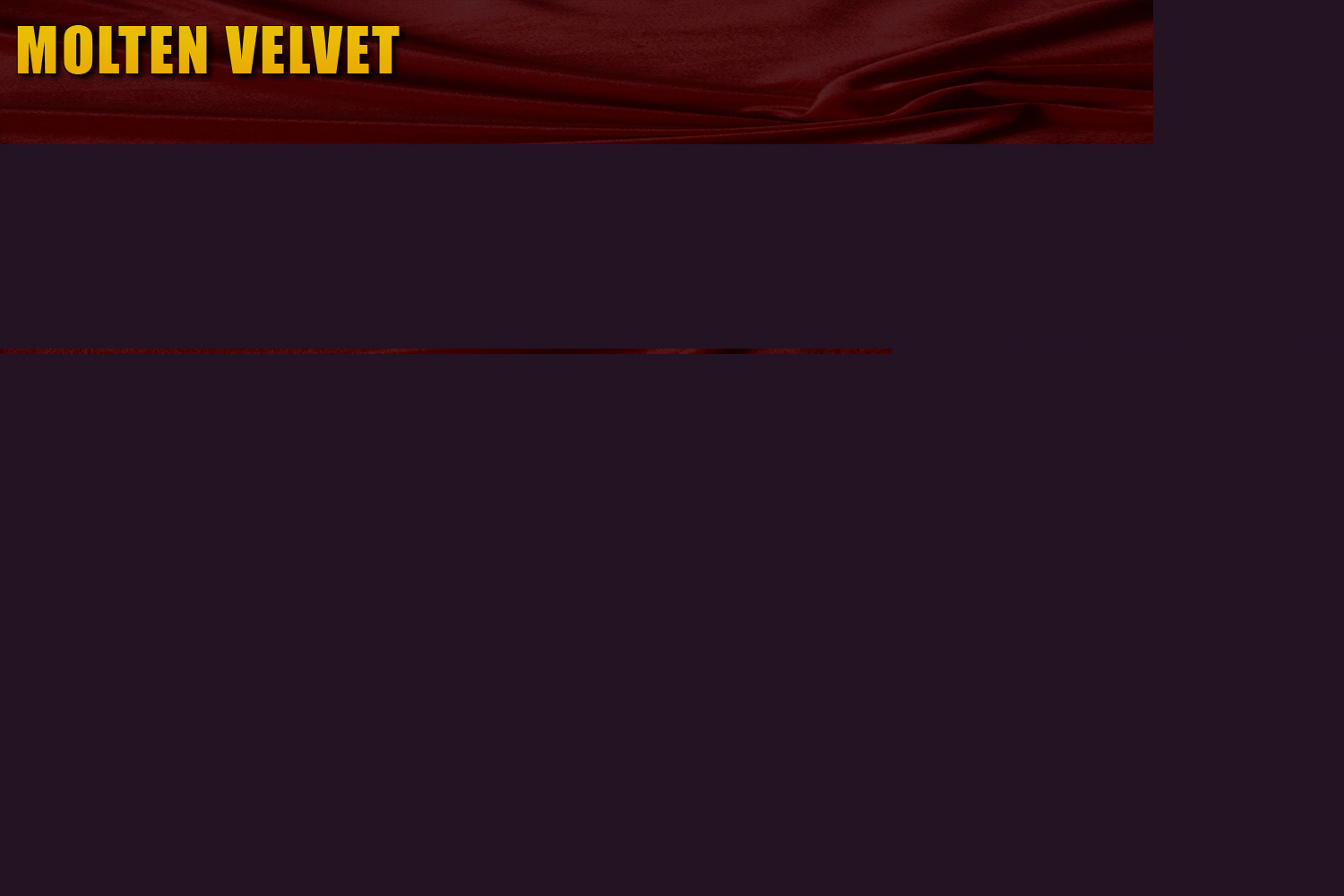 Molten Velvet: REPORT DEAD OR SLEEPING LINKS HERE
