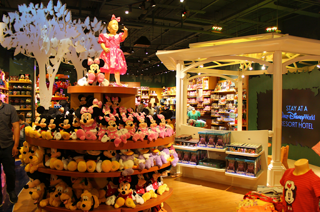Loja Disney Store em Orlando