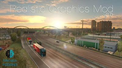 realistic graphic mod ets2