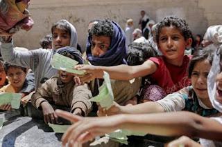 Di Tengah Kelaparan, Teroris Syiah Houtsi Curi Bantuan Makanan Untuk Rakyat Yaman