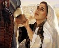 Resultado de imagem para jesus e a mulher cananeia