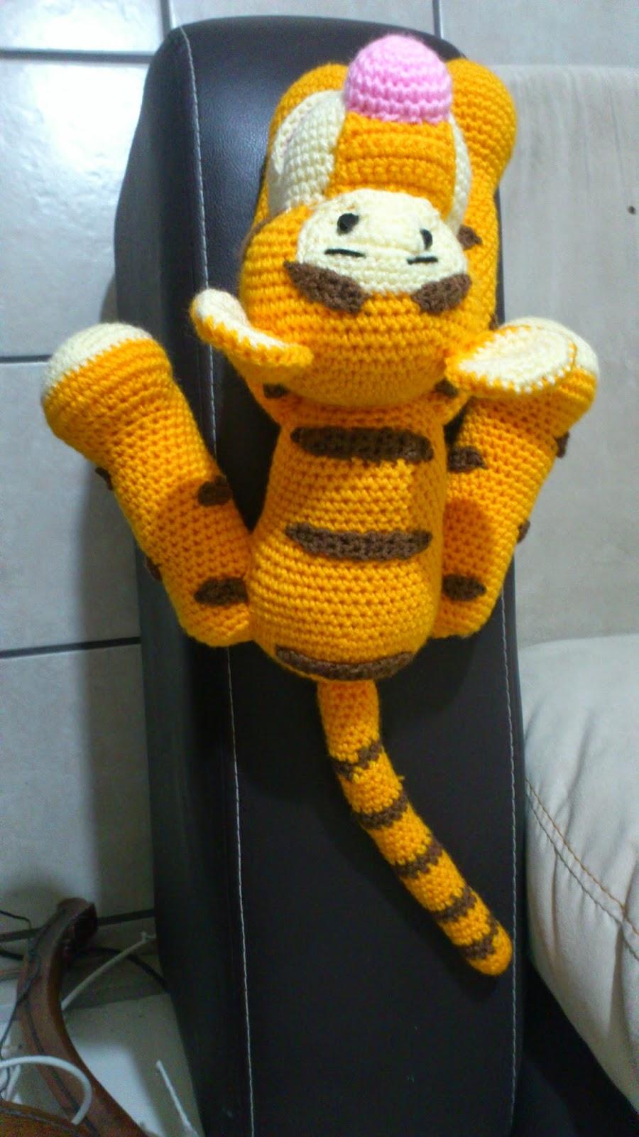 Little Tiger - PDF Pattern | Disney de crochet, Muñecos de ... | 1600x900