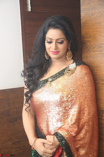 Udaya Bhanu lookssizzling in a Saree Choli at Gautam Nanda music launchi ~ Exclusive Celebrities Galleries 081.JPG