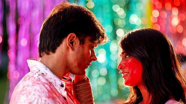 Romantic Bollywood Holi images