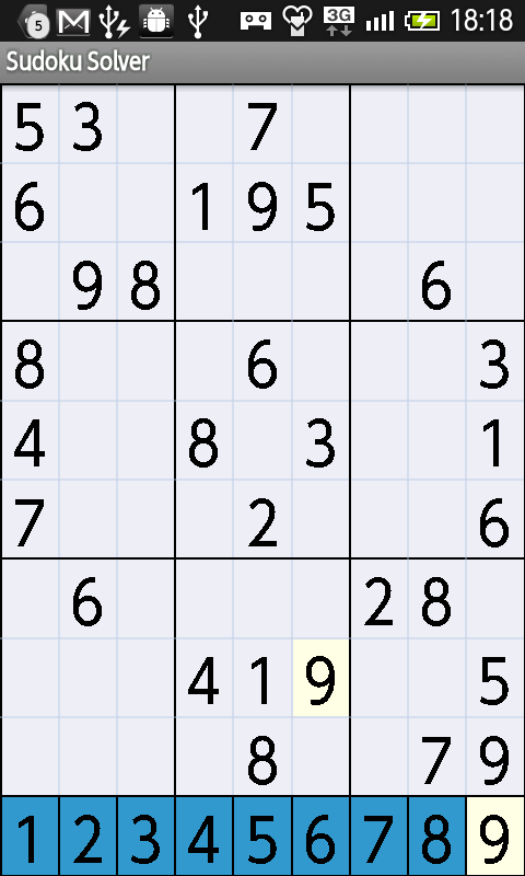 smart gadget laboratory 数独ソルバ sudoku solver