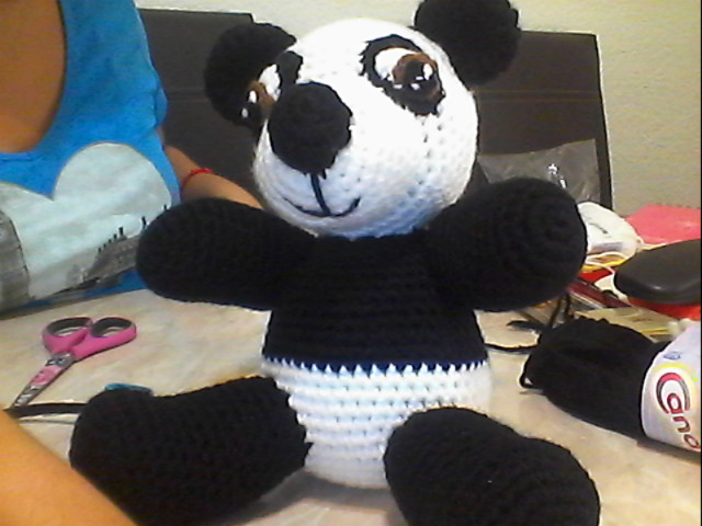 Oso Panda amigurumi tutorial - YouTube | 480x640