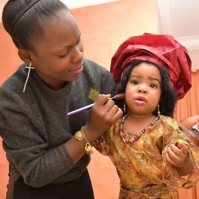 Photos Nollywood Actress Chacha Eke S Beautiful Daughter