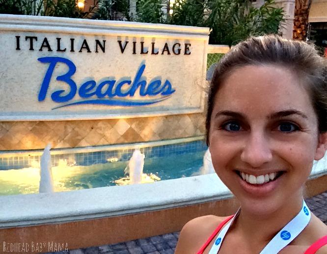 Beaches Turks and Caicos Italian Village Sign