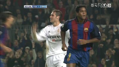 El Classico: Barcelona 1 vs 2 Real Madrid 06-12-2003