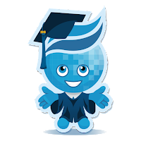 image of Rio mascot Splash in cap and gown