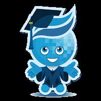 image of Rio mascot Splash in cap and gown
