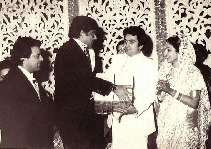 rishi kapoor wedding pictures |Shadi Pictures