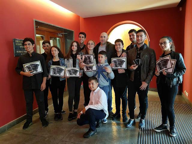 Jovens algarvios brilharam em Concurso Internacional de Acordeão