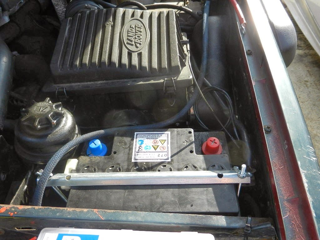 2nd battery location for a land rover discovery 1