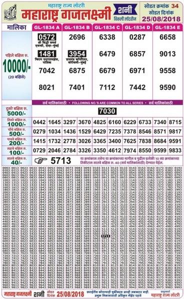 Shree Laxmi Lottery