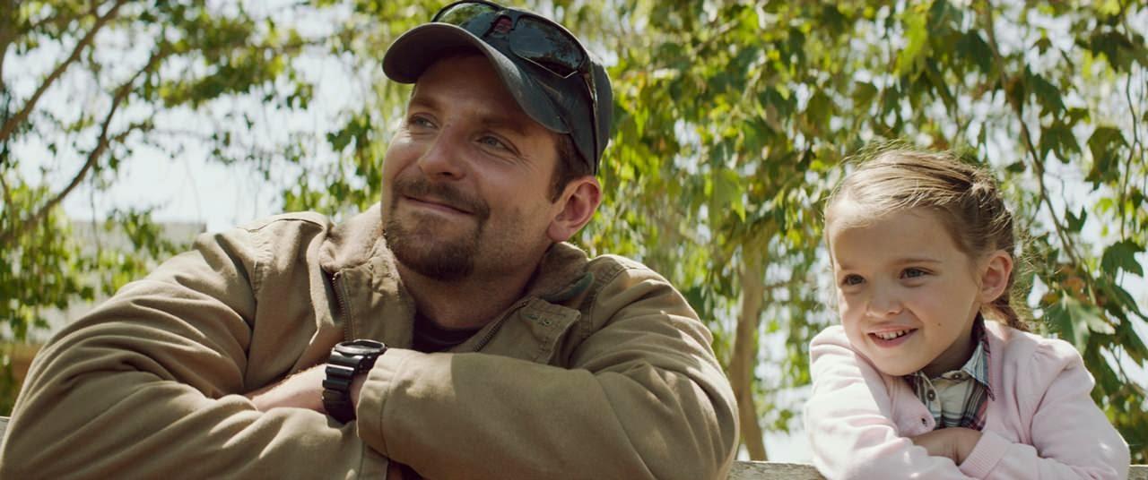 american sniper-bradley cooper-madeleine mcgraw
