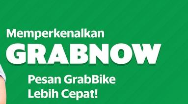 grabnow adalah, apa itu grabnow, grabnow grabbike, cara pesan grabnow, grabnow grab adalah