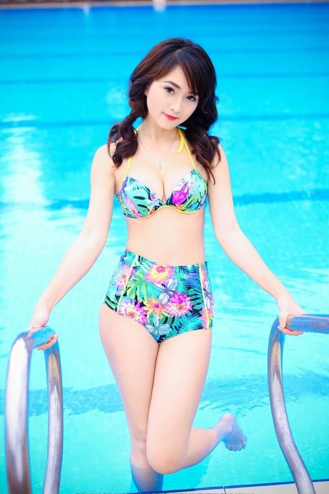 Hot Girl Chu Quỳnh Phương anh bikini