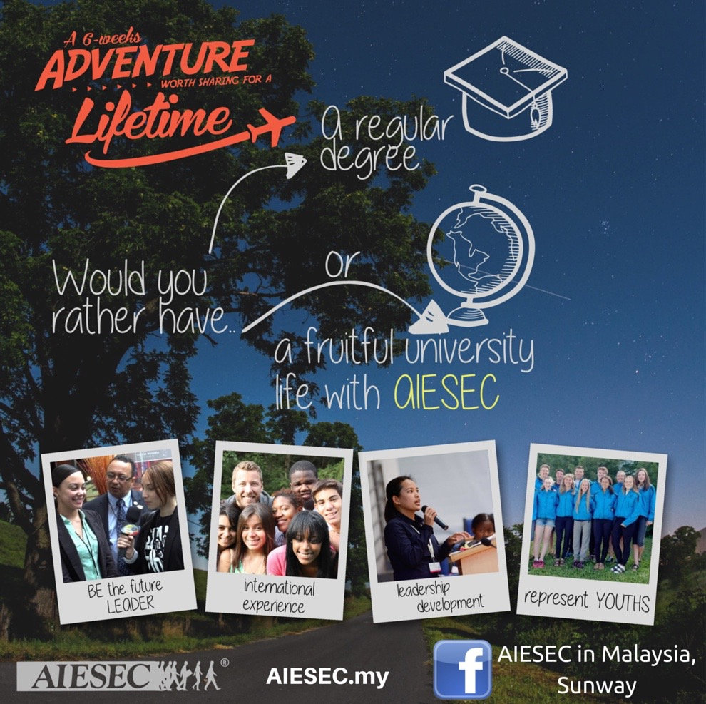 Global Citizen Programme by AIESEC in Malaysia
