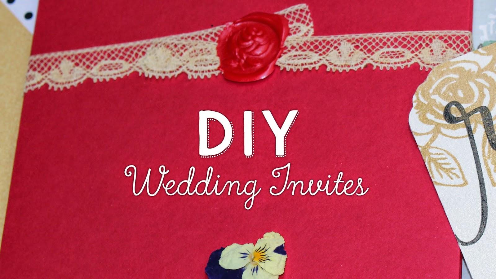 Dyi Wedding Invitations: Sophie Gallo Design Blog: DIY Wedding Invitations