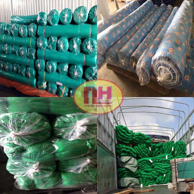 hàng cuộn vải - cuộn thảm - cuộn lưới
