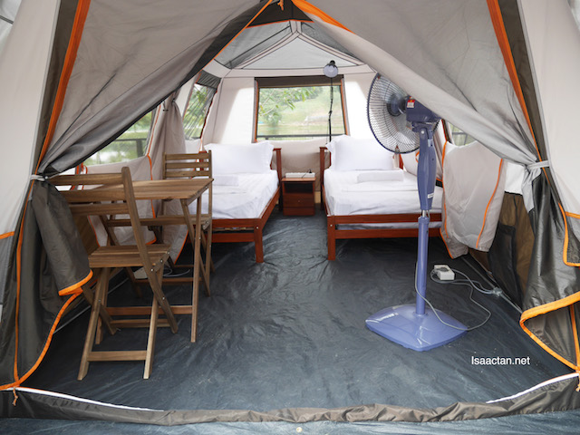Tent Rooms